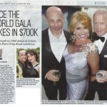 Newspaper clip from face the world foundation